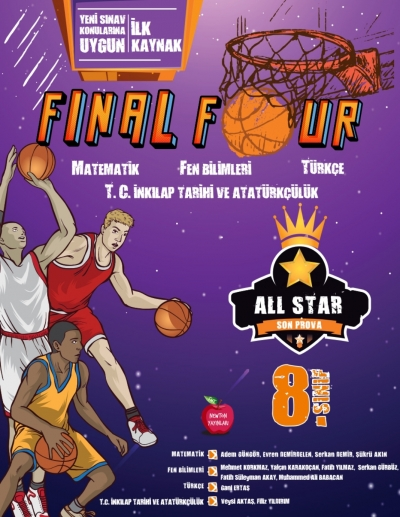8.SINIF ALL STAR FINAL FOUR SON TEKRAR